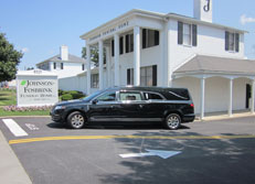 Locate the The Johnson-Fosbrink Funeral Home, P.A.  8521 Loch Raven Blvd. • Towson, MD 21286  (410) 668-2300